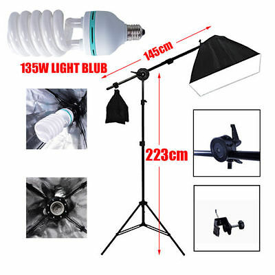Softbox Lighting Photo Soft Box Photography Studio Shooting Boom Light Stand Kit