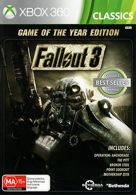 Fallout 3 GOTY Edition  - Xbox 360 game - BRAND NEW