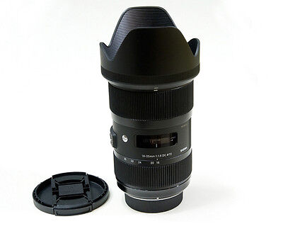 SIGMA Art 18-35mm F1.8 DC HSM SLR Lens For Nikon -Warranty