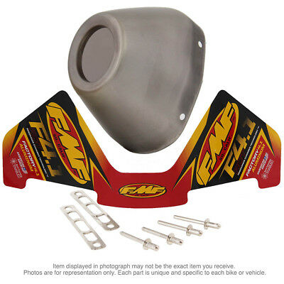 FMF NEW Factory 4.1 RCT Exhaust Stainless Steel Replacement Muffler End Cap Kit