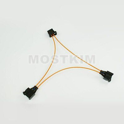 MOST Fiber Optic Jumper Cable Multimedia Connector For Audi BMW BENZ etc.