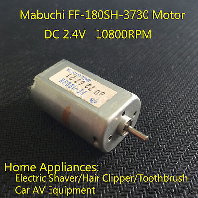 MABUCHI FF-180SH DC 1.5V 2.4V 10800RPM Mini Motor Electric Shaver Toothbrush DIY