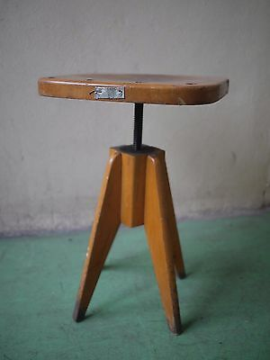 vintage kitchen stool chair- great shape