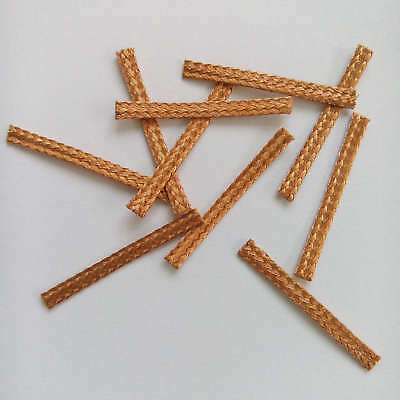 10x 27mm Hi-Performance SCALEXTRIC BRAIDS Contacts Pick-ups  Brushes Copper