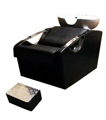 Salon/Hairdressing Barbers Back Wash Basin With Chair And Footrest - 9667