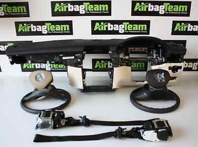 Mercedes CLS 2010 - On Airbag Kit Driver Passenger Knee Dashboard Seatbelts
