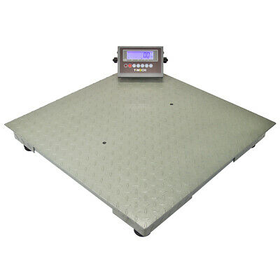 Platform Scale Commercial Weighing Scales LED Display Pallet Parcel Weigh Scales