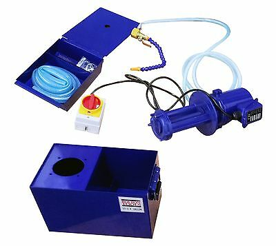 3.4 Gallon Coolant Pump and Reservoir for Milling and Lathe Machines CS34-1