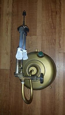 Antique Wall Mount Gas Pressure Mantle Lamp Nice !