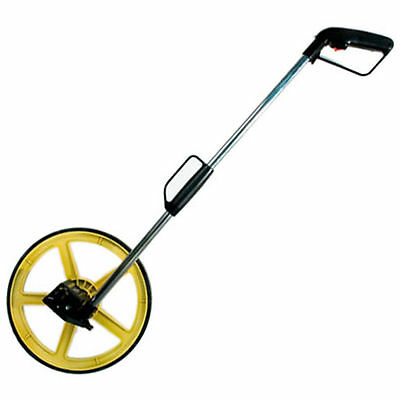 Distance Measuring Wheel With Bag Road Land 318Mm Builders Surveyors Measurement