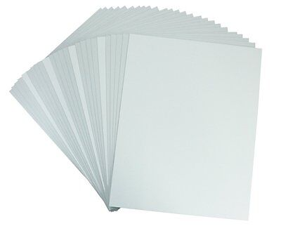 """Pack of 50 11x14 1/8"""" White Foam Core Backing Boards"""