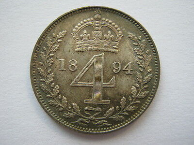 1894 Maundy Fourpence