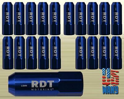 Blue M12x1.5 60mm Alum. Tuner Racing Wheel Lug Nut x20 for Toyota Lexus Scion