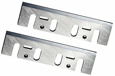 POWERTEC 128361 4-3/8-Inch HSS Planer Blades for Makita 1912B, Set of 2, New, Fr
