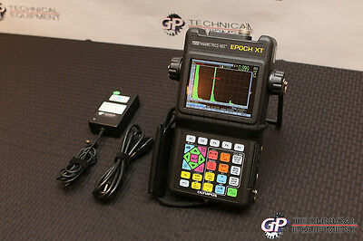 All Options! Encoded Bscan Olympus Panametrics Epoch XT Ultrasonic Flaw Detector