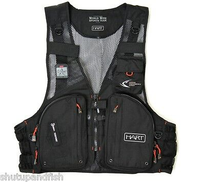 Hart Spinning Pro Lure Fishing Vest Size XL