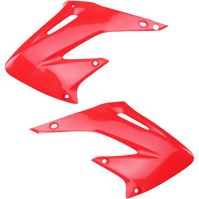 UFO Plastics NEW Mx Honda CR 125 250 2002-2007 Motorbike Red Radiator Shrouds