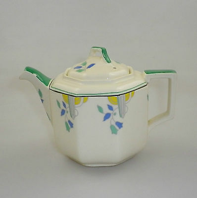Royal Doulton Art Deco Tea Pot 'Weston' D5498