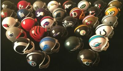 Nfl American Football Riddell Helmet (Mini 1.5 Inch) 32 To Choose From