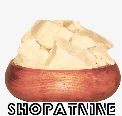 450g - Certified 100% Organic Pure Unrefined Raw Shea Butter- A Grade