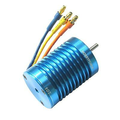Hobbypower 3650 540 10T 3900KV Brushless Motor for 1/10 1/12 RC Auto Car Truck