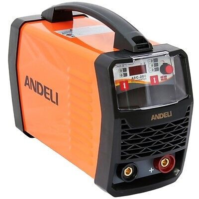 200Amp Mma/arc/stick Dc Inverter Welder With Lift Tig, Digital Display + Mma Kit