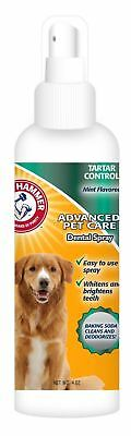 Arm & Hammer Dog Puppy Oral Dental Hygiene Care Mouth Spray Bad Breath Mint 4oz