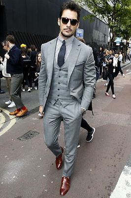 2016 Slim Fit Groomsmen Suits Groom Tuxedos for Wedding Formal Party Men Suits