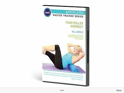 APPI Pilates DVD Foam Roller Exercise Workout Core Strength Training Sports Gym