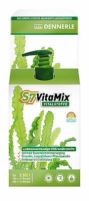 Dennerle S7 VitaMix for 8000L 250ml Concentrate Aquarium Fertiliser Fertilizer