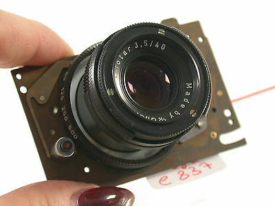 Orig. Rollei 35 Ersatzteil Spare Part Vintage Kamera Foto Photo Optik Lens (6)