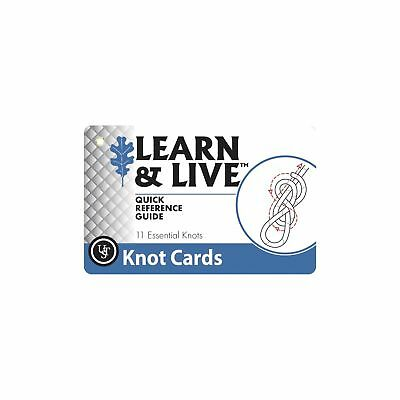 Ultimate Survival Technologies Learn & Live Knot Cards Pocket Reference Guide