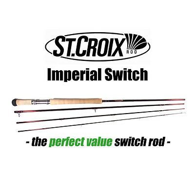St.Croix IMPERIAL SWITCH Fast Action Flyrod - Fliegenrute - 1106-4 11' #6