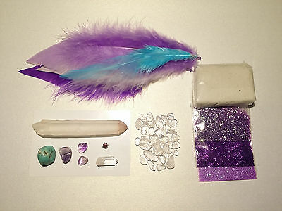 WAND MAKING KIT x 2 NEW in Packaging_Natural Crystals
