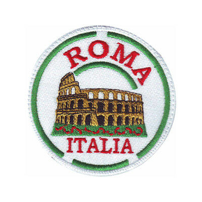 Rome Italy (C)  Embroidered Sew On Patch