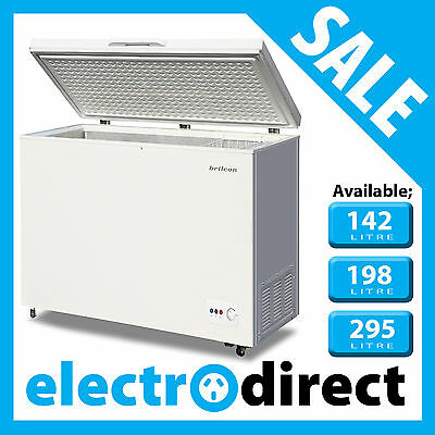 Brand New Chest Freezer Deep Freeze in Various Sizes 142, 198, & 295 Litre Liter