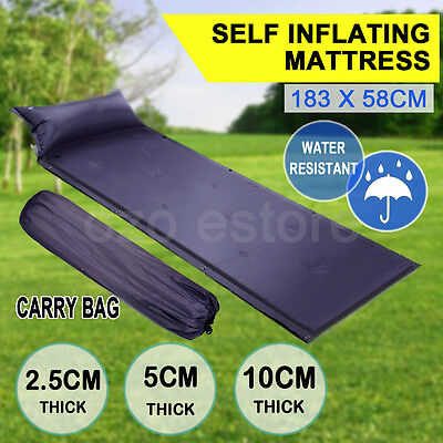 Self inflating Mattress Mat Foldable Inflatable Sleeping Air Bed Camping Hiking