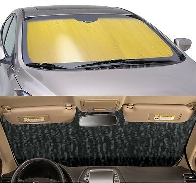 GOLD Sun Shade for windshield - CUSTOM Precision Cut - Volkswagen