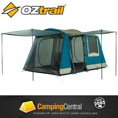 Oztrail Sundowner 2 Room (6 Person) Family Dome Camping Tent