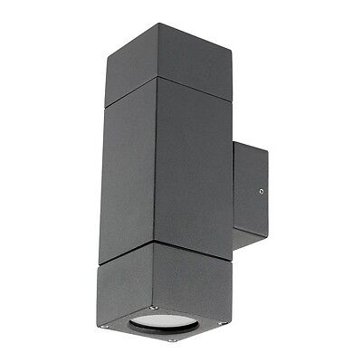 Prairie Up/Down Exterior Wall Light Charcoal Brilliant Lighting 17952/51