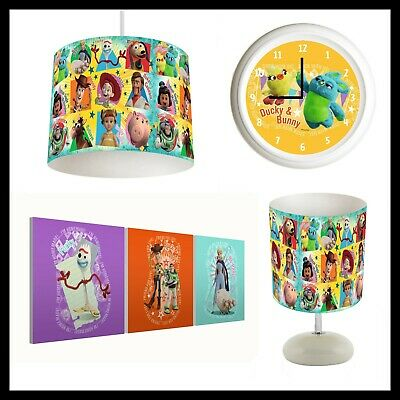 SHOPKINS - Bedroom Bundle Lampshade, Lamp, Clock, Canvas Prints FREE P&P