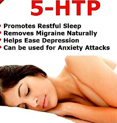 5-HTP 100mg Lindens Antidepressant Anxiety Insomnia Supplement 60 Tablets