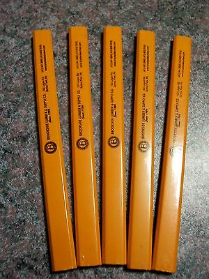 Carpenter Pencils  Lot 0F 5   High Quality Atlas  - Free Shipping