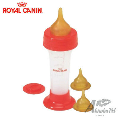 Royal Canin Milk Feeding Bottle 3 Replacement Teats Baby Kitten