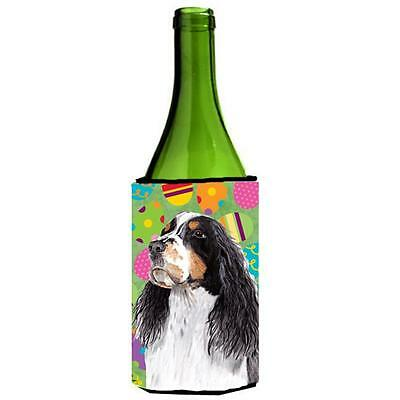 Springer Spaniel Easter Eggtravaganza Wine Bottle Hugger 24 oz.