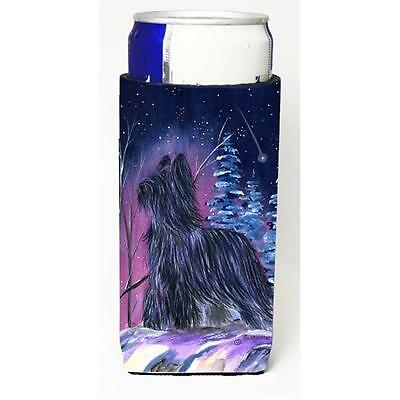 Starry Night Briard Michelob Ultra bottle sleeves For Slim Cans 12 oz.