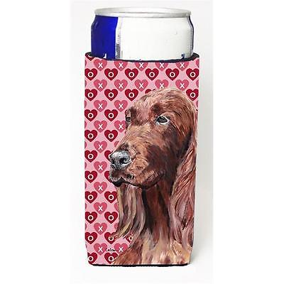 Irish Setter Valentines Love Michelob Ultra bottle sleeves for slim cans 12 oz.