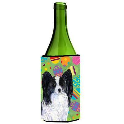 Papillon Easter Eggtravaganza Wine bottle sleeve Hugger 24 Oz.