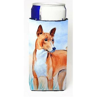 Red And White Basenji Michelob Ultra bottle sleeves For Slim Cans