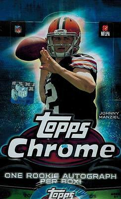 2014 Topps Chrome Football Factory Sealed Hobby Box  - Factory Sealed!